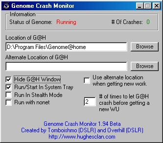 GenomeMon Screenshot